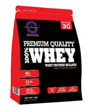 1kg Whey Protein Isolate Powder WPI 100 Pure Chocolate