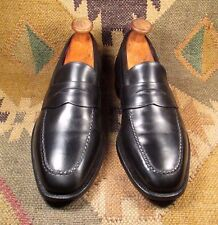 JOHNSTON  & MURPHY ARISTOCRAFT  BLACK PENY LOAFERS SIZE 91/2 B/D MADE IN USA