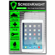 ScreenKnight Apple iPad Air / Air 2 SCREEN PROTECTOR invisible Military Shield