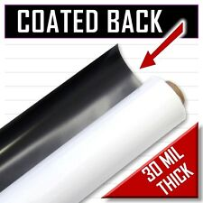 New 50 Ft Roll 24 Magnetic Sign Material 30 Mil Thick Car Vinyl Magnet Sheet