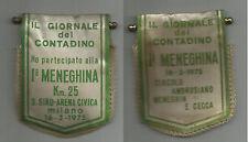 gagliardetto scudetto il giornale del contadino meneghina 1975