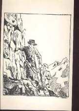 Hergé auteur Tintin et Milou carte postale cpm postcard cartolina 1980 escalade