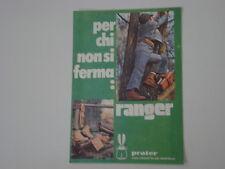advertising Pubblicità 1973 SCARPE RANGER PRATER