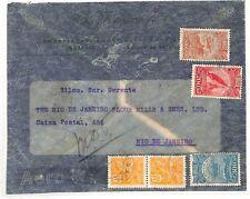 AE111 1932 Brazil Rio De Janeiro Flour Mills & Granaries {samwells-covers}PTS