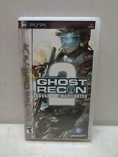 PLAYSTATION PORTABLE PSP GHOST RECON 2 ADVANCED WARFIGHTER COMPLETE