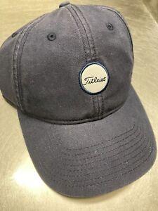 NEW TITLEIST  MENS GOLF HAT BLUE