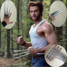 1pair/2Pcs Adlut Children version Wolverine Claws Hard Plastic Cosplay The Props