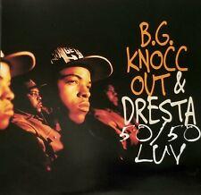 """BG KNOCC OUT DRESTA 50/50 LUV CD G FUNK 1995 PROMO RAP HIPHOP GANGSTA VTG lp 12"""""""