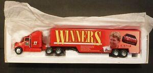 1994 ERTL Winners Bill Elliot 1/64 Scale Collectible Semi Truck & Trailer # T389