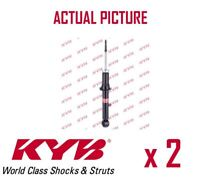 2 x FRONT AXLE SHOCK ABSORBERS PAIR STRUTS SHOCKERS KYB OE QUALITY 341266