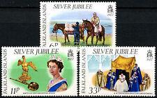 Falkland Islands 1977 Silver Jubilee MNH Set #R310