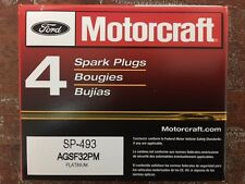 NEW SET of 8 MOTORCRAFT PLATINUM SPARK PLUGS SP-493 - AGSF32PM