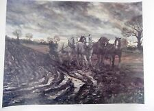 "Joe Godderidge  heavy horse print ""Wet Headlands"" 2001   last copy"