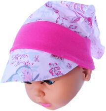 Baby Kopftuch Kopfbedeckung Kinder Mütze Stirnband Haarschmuck Ku 35-43cm. Haarschmuck
