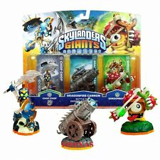 Skylanders Giants Adventure Battle Pack Dragonfire Cannon Chop Chop 3 pack NEW