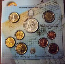 ITALIA REPUBBLICA 2005 DIVISIONALE ZECCA CON 5 EURO IN ARGENTO 9 VALORI FDC