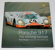 Porsche 917 The Winning Formula Hardcover by Peter Morgan