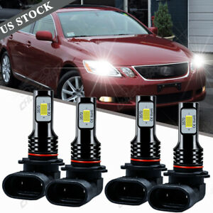 LED Headlight Conversion Combo Bulbs Kit For Lexus GS300 GS430 GS300 1992-2006