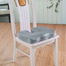 Orthopedic Memory Foam Seat Cushion Office Chair Car Wheelchair Sciatica Pillow