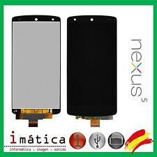 PANTALLA COMPLETA TACTIL + LCD LG NEXUS 5 D820 D821 GOOGLE NEGRA NEGRO DISPLAY