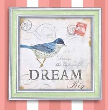 Wall Painting Picture Canvas Wooden Frame Art Modern Design -Dream Big