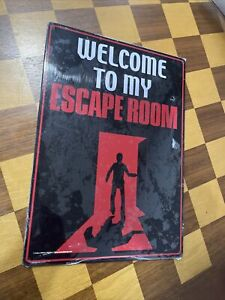 Welcome To My Escape Room 8x12 Bedroom Man Cave
