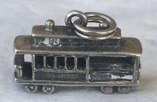 Vintage Sterling Silver Solid Danecraft San Francisco Streetcar Charm