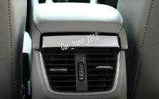Car stainless steel Rear Air Vent Frame Cover For Skoda Octavia MK3 A7 2015 2017