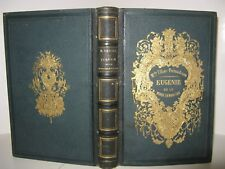 ULLIAC-TREMADEURE EUGENIE OU MONDE MINIATURE 1855 Planches Couleurs ROMANTISME
