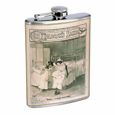 Vintage Poster D145 Flask 8oz Stainless Steel Children's Sake Bobby I Forgot