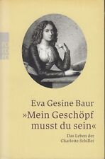 """Eva Gesine Bauer - """"Mein Geschöpf musst du sein"""""""