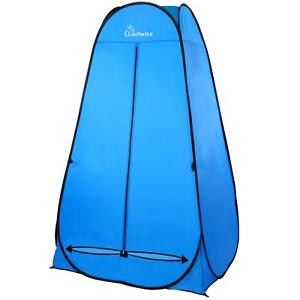 WolfWise Collapsible Lightweight Pop-up Shower Tent, Opens In Seconds Shelter