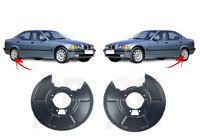 FOR BMW E46 E36 Z1 Z4 NEW REAR BRAKE PROTECTION PLATE PAIR SET L&R