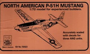 1/72 High Planes 72023; North American P-51H MUSTANG