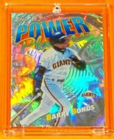 Topps Power Players Barry Bonds SF Giants Jersey Rare Holofoil Refractor Legend