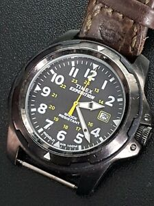 GENTS TIMEX EXPEDITION WATCH INDIGLO WORKING MILITARY STYLE DATE