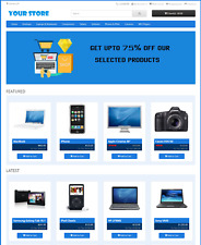 Premium Ecommerce Website For Sale Responsive Shopping Cart Store