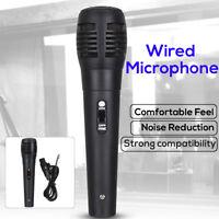 Uni-directional Handheld Wired Microphone Professional Mic KTV Karaoke Vocal 🔥