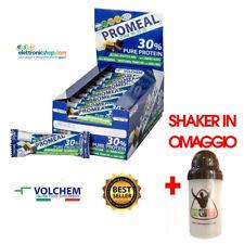 VOLCHEM PROMEAL ZONE 40-30-30 Barrette proteiche box 24 pezzi volchem + OMAGGIO