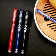 1×Hup Kids Practice Write Good Pen Erasable Rollerball Pen 0.5mm Pen Roller Blue