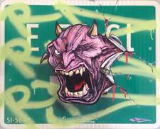 RD357 graffiti sur panneau métal NYC signé +COA- 61x76cm /cope2/seen/taki/futura