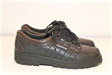 MEPHISTO air relax chaussures en cuir noir garçon Pointure 35 TRÈS BON ÉTAT