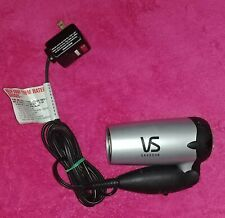 Vtg 2001 Vidal Sassoon VS51C 1100W Dual Voltage Folding Compact Travel Dryer