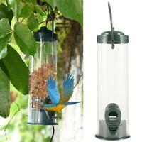1St Outdoor Meisen Vogelfutterspender zum Aufhängen Futtersäule Bird Feeder Grün