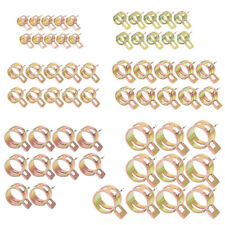 60Pc 6-15mm Spring Clips Fuel Oil Water Hose Clips Pipe Tube Clamp Fastener