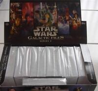 2013 TOPPS STAR WARS GALACTIC FILES SERIES 2 COMPLETE SET OF 350 CARDS