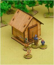 Dark Age GRAIN STORE 28mm Laser cut MDF scale Building  J015