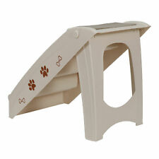 New listing Foldable Dog Ramp Stairs Steps For Smaller Pets Pickup Travel Ladder Max 100 Lbs