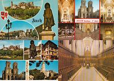 Lot 4 cartes postales AUCH 1