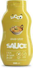Locco sans gluten Basse Cal Indian Curry Sauce, Slimming nourriture pour céto Di...